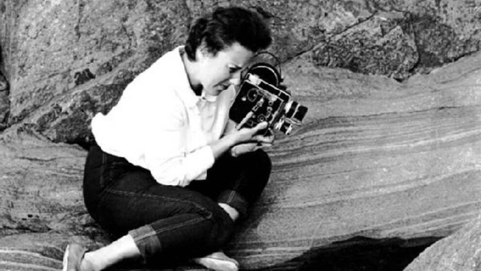 Fotografen Claire Aho 1961.