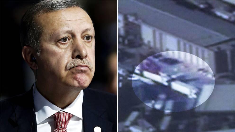Ordkriget mellan Ryssland och Turkiet trappas upp. Nu anklagas Turkiets predident för att göra oljeaffärer med IS.
