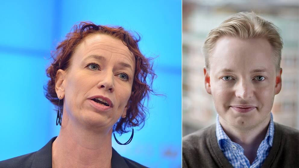 Christina Höj Larsen, Vänsterpartiets flyktingpolitiska talesperson och Malmös moderata oppositionsråd Torbjörn Tegnhammar är både mycket kritiska till regeringens förslag.