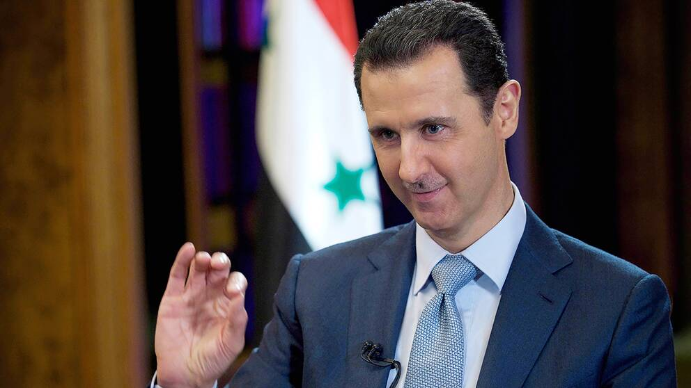 Syriens president Assad.