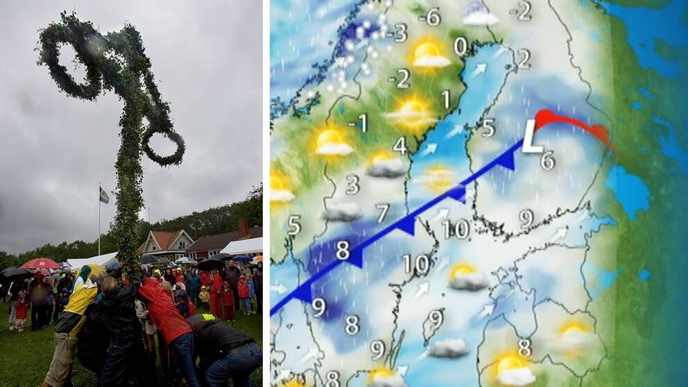 I Stockholm var 6 december lika varmt som midsommarafton.