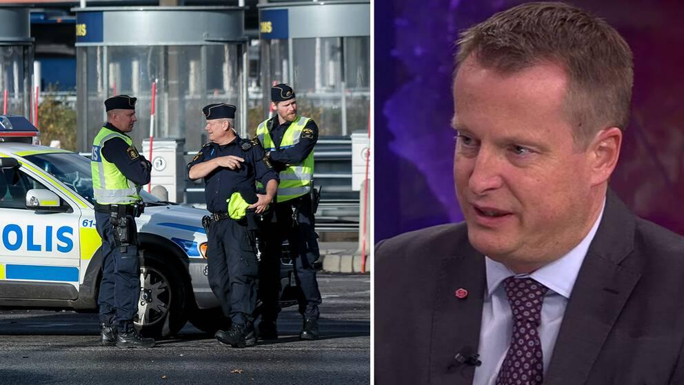 Inrikesminister Anders Ygeman (S)