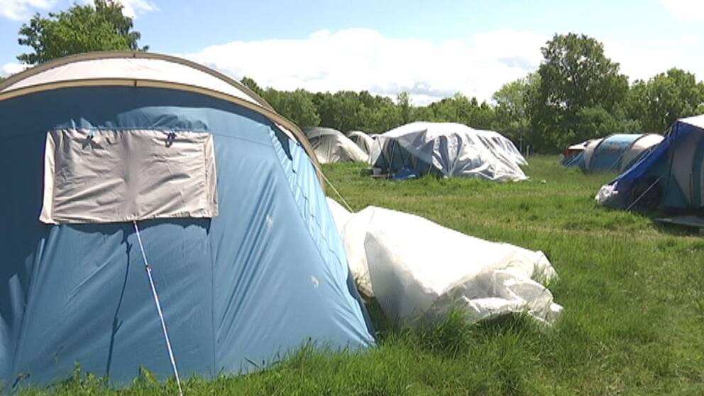 Stenbrogårdens camping i Helsingborg