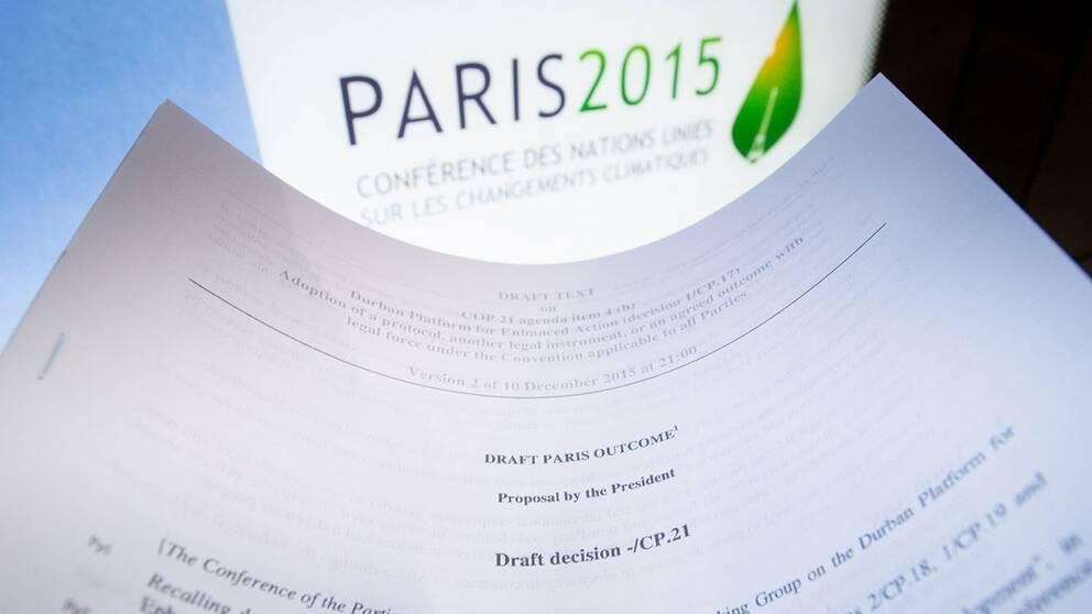 Här är förslaget till klimatavtal i Paris  b2df0a0d84e13