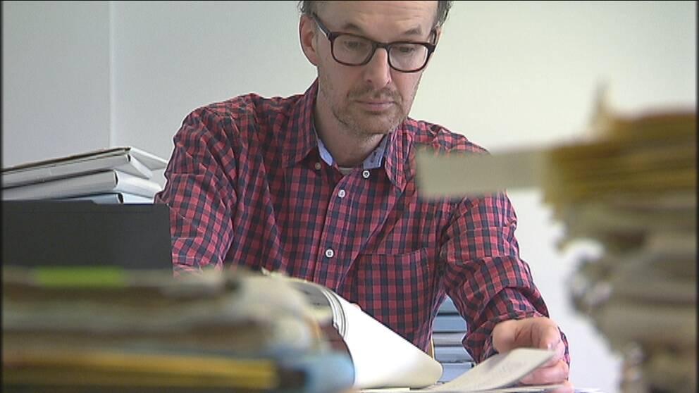 Uppdrag gransknings Björn Tunbäck.