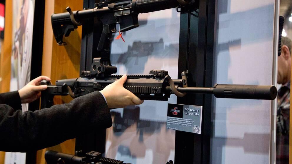 Vapenhandeln narmar sig svenska bnp