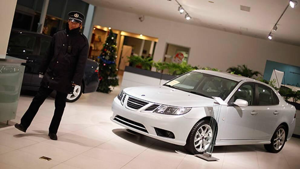 Det är den gamla 9-3-modellen som ska återuppstå som elbil i Kina.