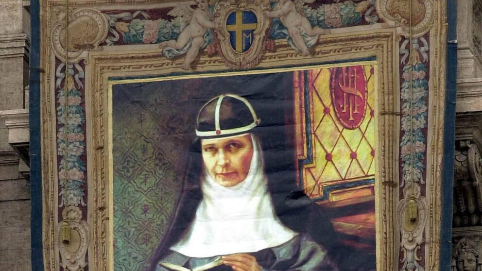 Vävavsyster Elisabeth Hesselblad vid S:t Peterskyrkan