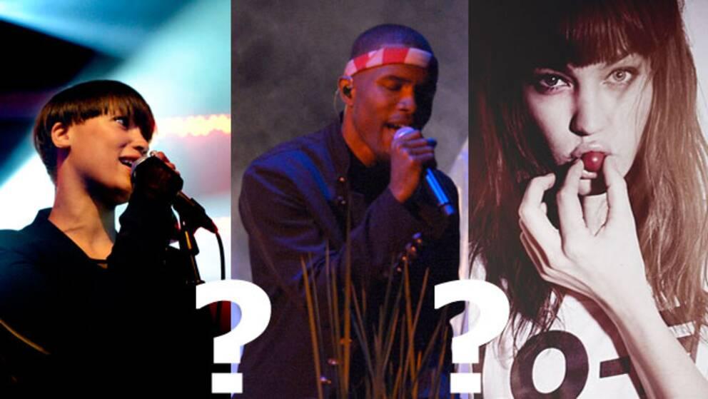 Icona Pop, Frank Ocean eller Elliphant passar in på festivalens kriterier.