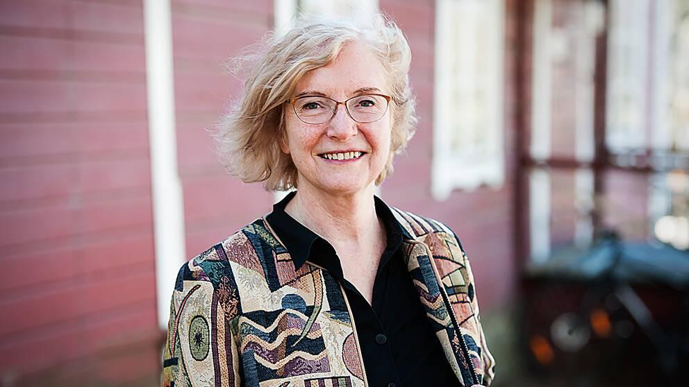 Drude Dahlerup, professor i statsvetenskap med inriktning på genusforskning.