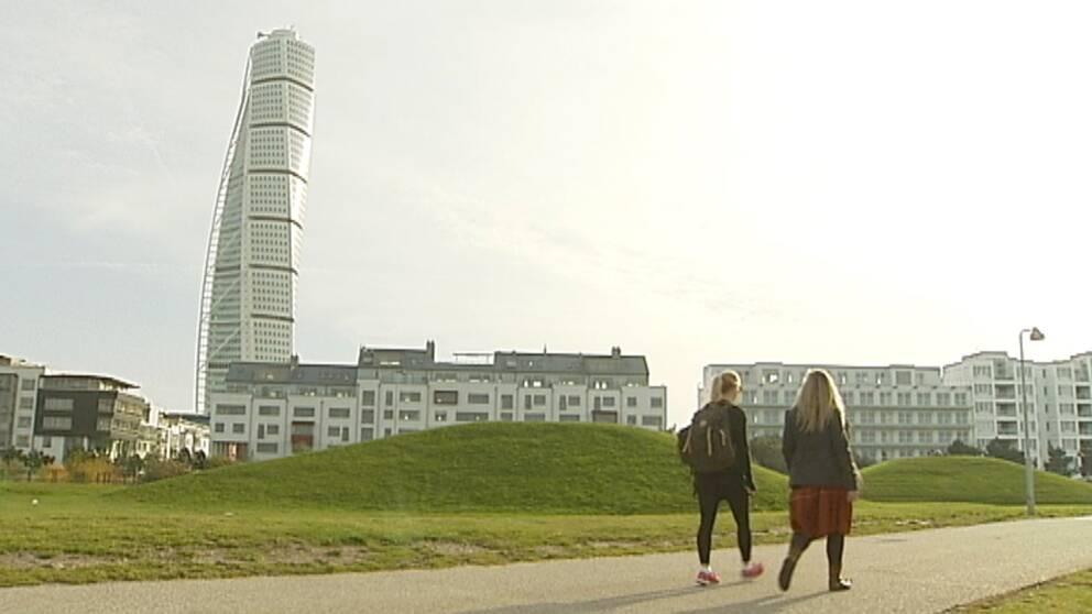 Sensommarvärme i Malmö den 20 oktober.