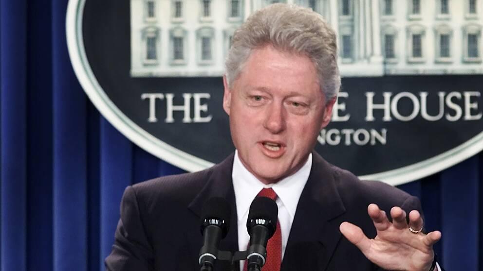 Bill Clinton (1946-). Demokrat – president mellan 20 januari 1993 och 20 januari 2001. Vicepresident Al Gore.