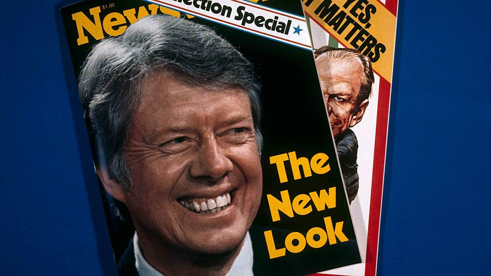 Jimmy Carter (1924-). Demokrat – president mellan 20 januari 1977 och 20 januari 1981. Vicepresident Walter Mondale.