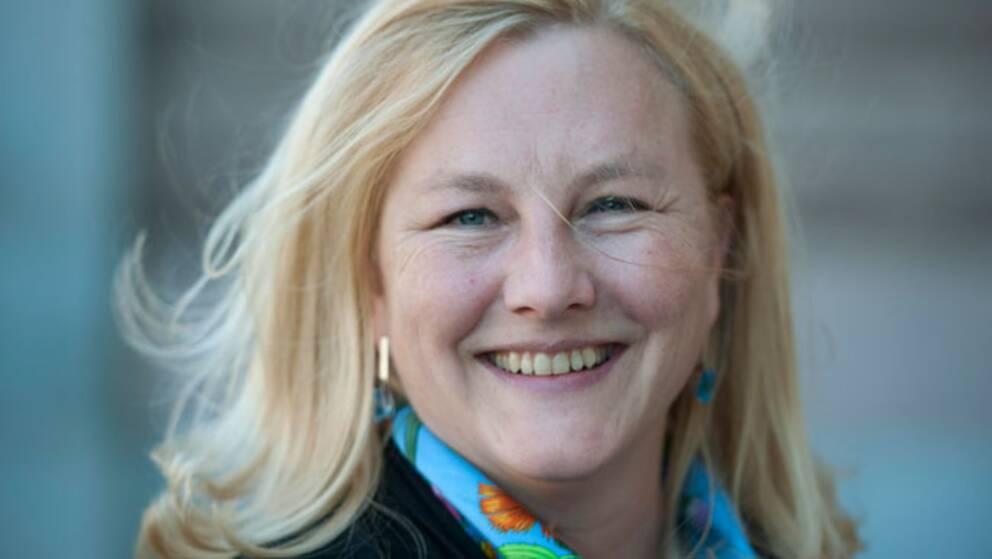 Ewa Björling (M), svensk handelsminister.