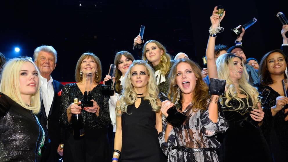 2015 års Grammisvinnare.