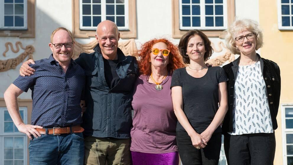 Morgan Alling, Stefan Sauk, Claire Wikholm, Amanda Ooms och Marika Lagercrantz är årets stjärnor på slottet.