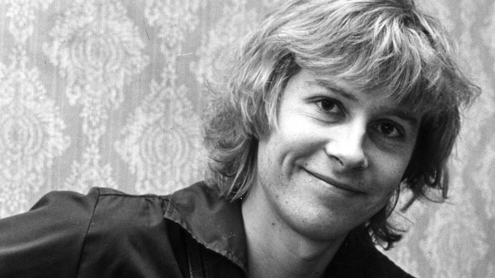 Peter Lundblad fotograferad 1978.
