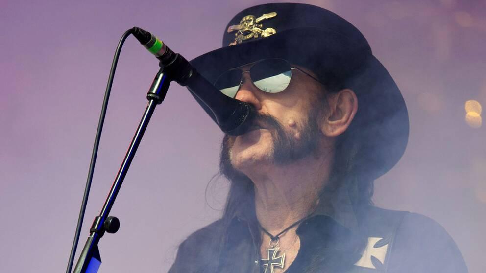 "Motörheads frontfigur ""Lemmy"" Kilmister"