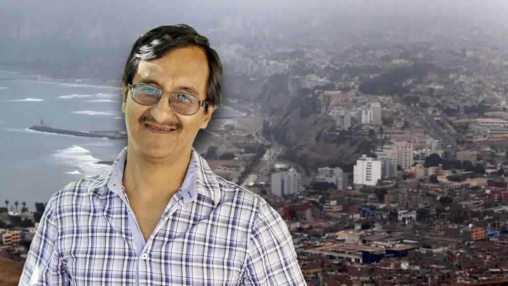 Angel Villaverde greps enligt uppgift direkt på flygplatsen i Lima
