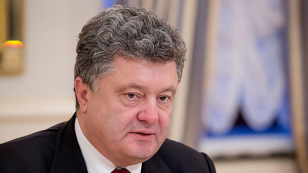 Ukrainas president Petro Porosjenko