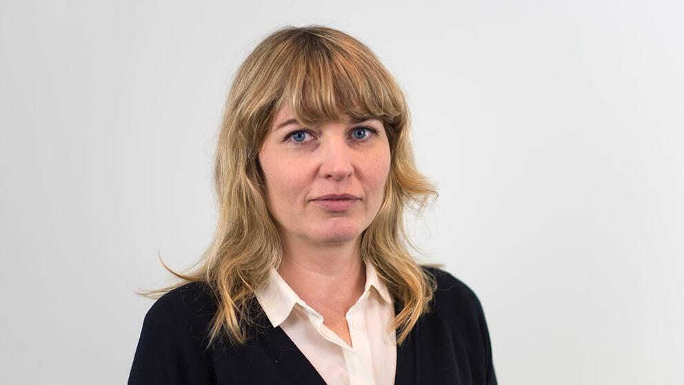 SVT Nyheters Johanna Cervenka.