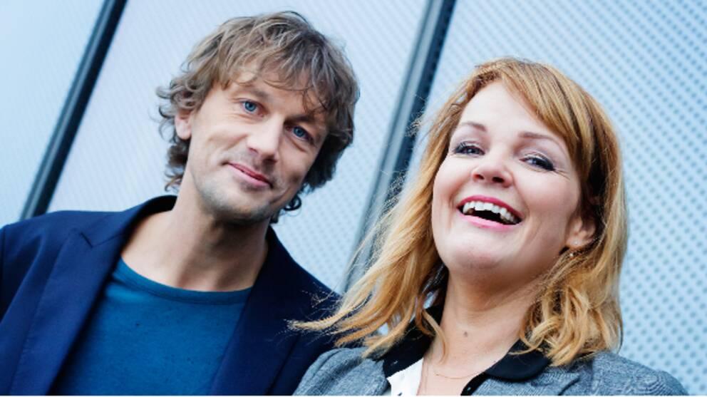 Olle Palmlöf och Belinda Olsson kommer att turas om som programledare för Opinion live.