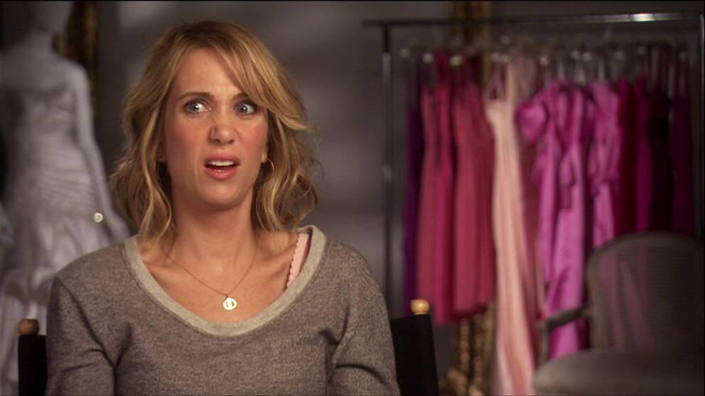 Kristen Wiig intervjuas i Komiska genier i Hollywood.