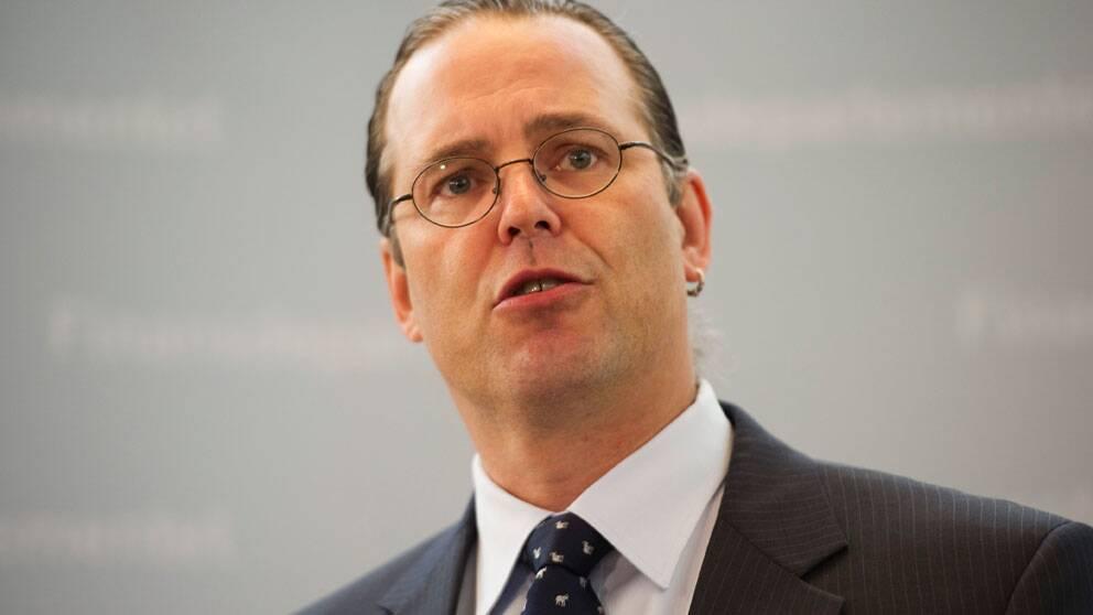 Finansminister Anders Borg. Foto: Scanpix
