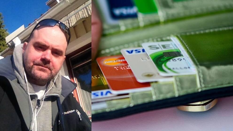 692 kronor drogs från Robert Hejdenbäcks kontokort.
