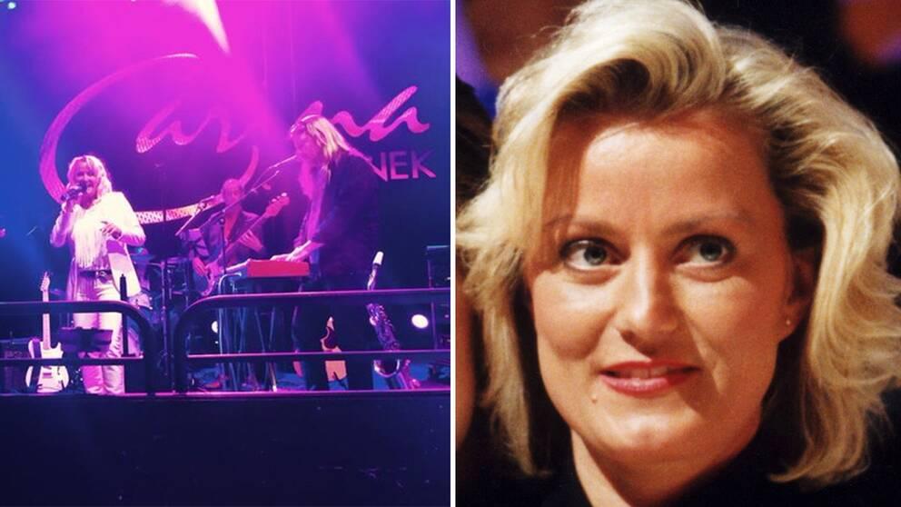 Den svenska dansbandssångerskan Carina Jaarnek är död. Hon blev 53 år gammal.