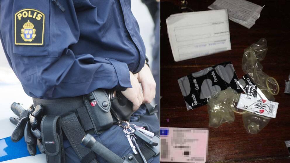 polisen har beslagtagit min väska