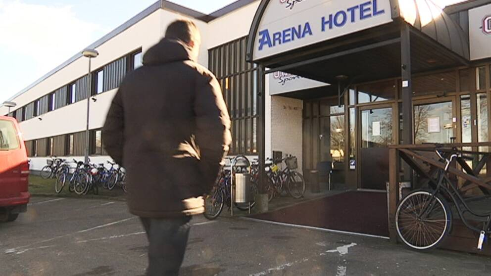 Arena hotel, asylboende på Vallås, Halmstad