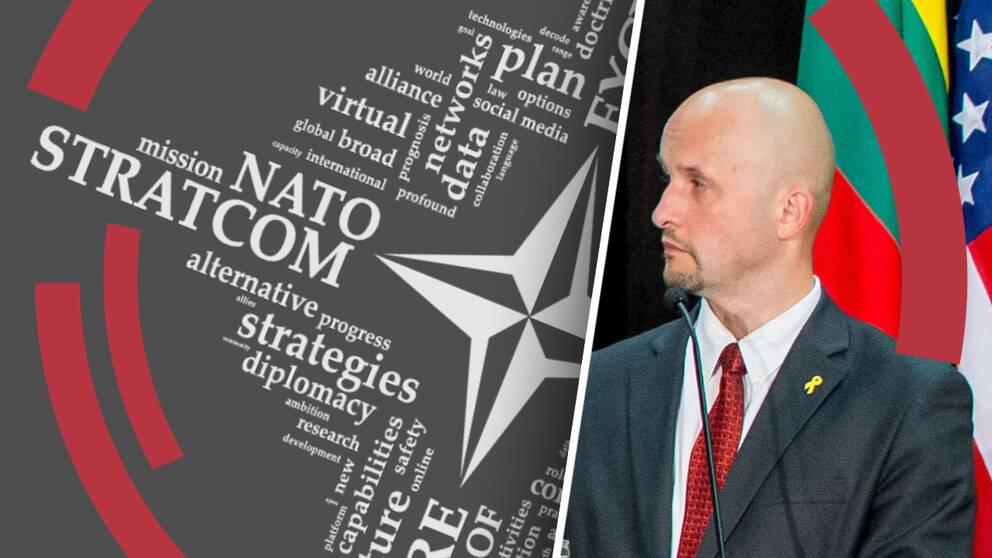Janis Sarts, chef för StratCom, Natos center för strategisk information.