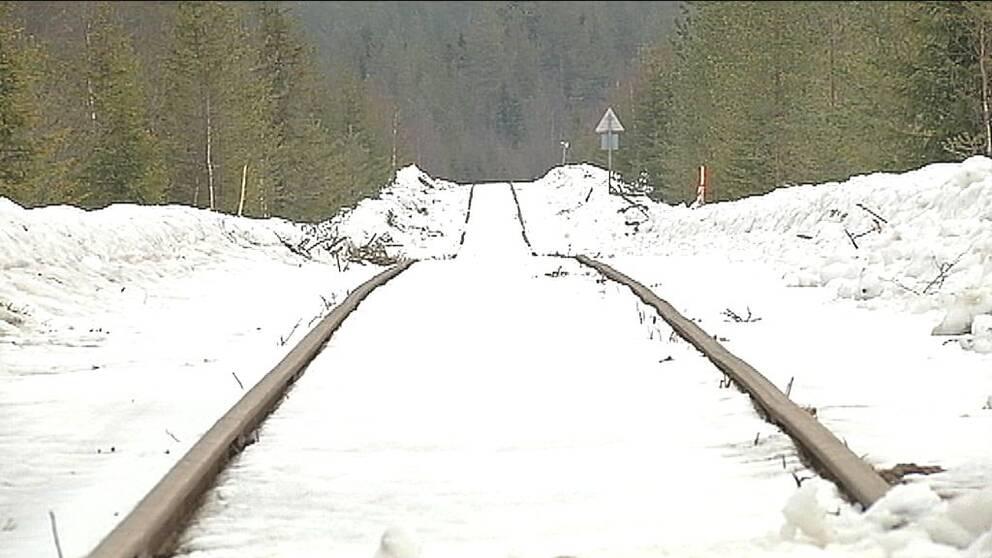 tågbana tåg testbana