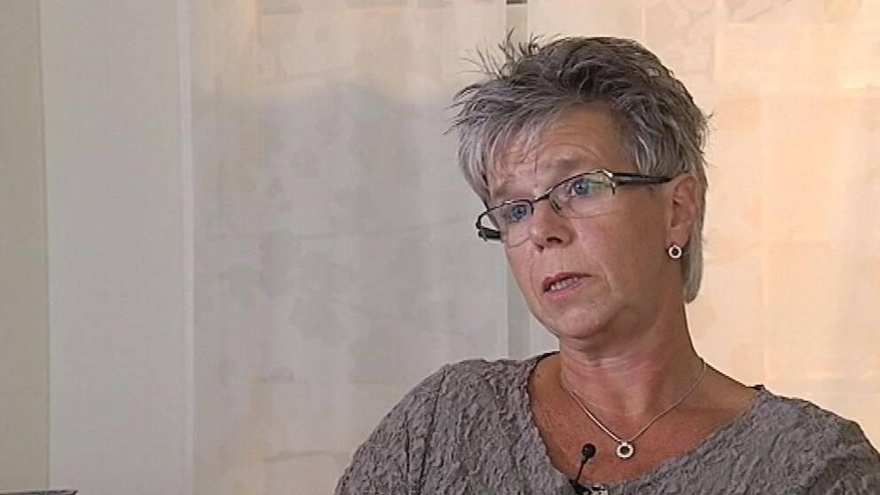 Ambulansens verksamhetschef Anna-Karin Juwél-Egeland vill inte ha kommersiell verksamhet.