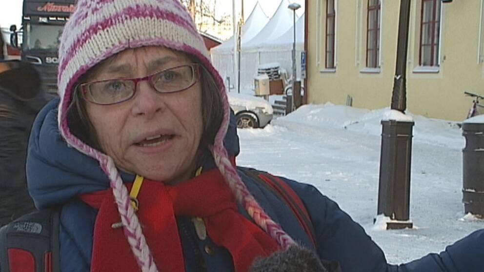 Inga Martinsson från Stockholm.