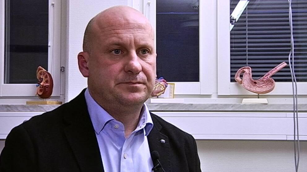 Lars Almroth, förvaltningschef Blekingesjukhuset