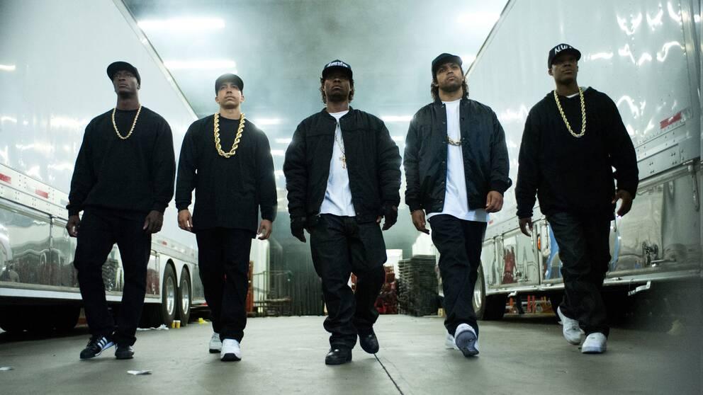 """Bild från filmen """"Striaght outta Compton"""", med premiär förra året."""