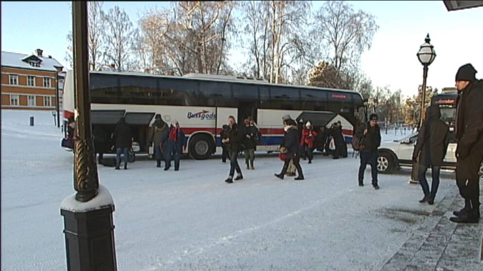 Bussar ersatter pendeltag