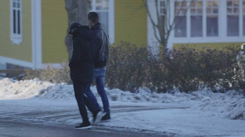 Unga asylsökande i Lessebo