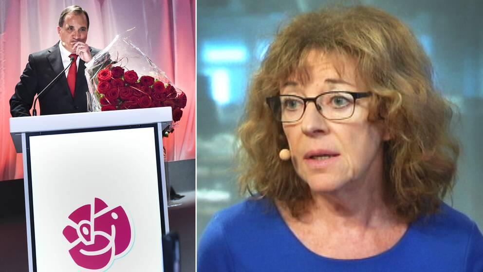 SVT:s inrikespolitiska kommentator Margit Silberstein kommenterar nu de rekordlåga opinionssiffrorna för Socialdemokraterna och Stefan Löfven.