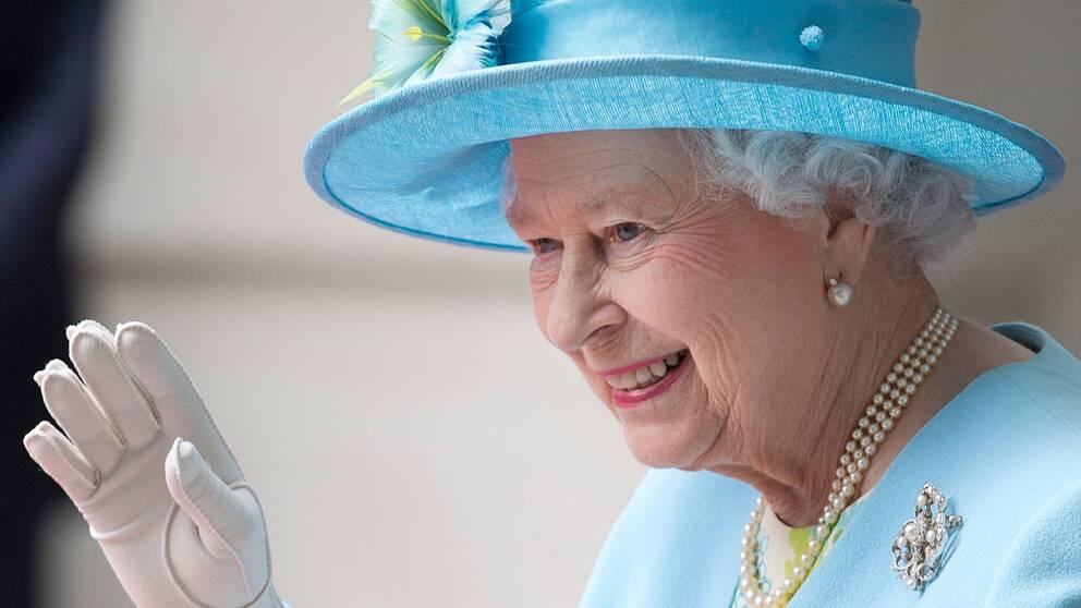 Storbritanniens drottning Elizabeth.