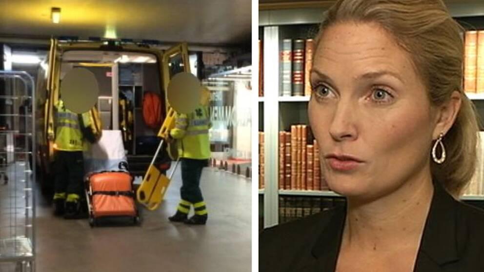 Generalsekreteraren för Institutet mot mutor Helena Sundén