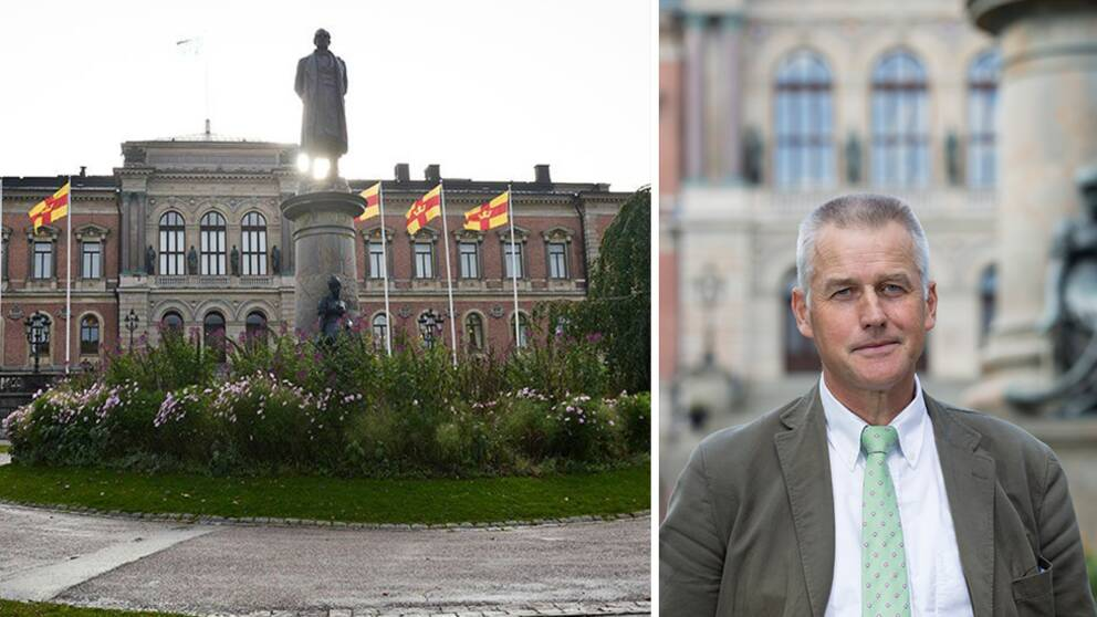Prorektor Anders Malmberg, Uppsala universitet.