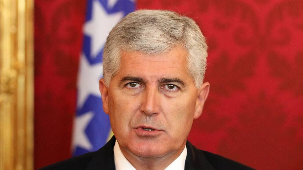 Dragan Covic, ordförande i Bosnien-Hercegovinas presidentråd.