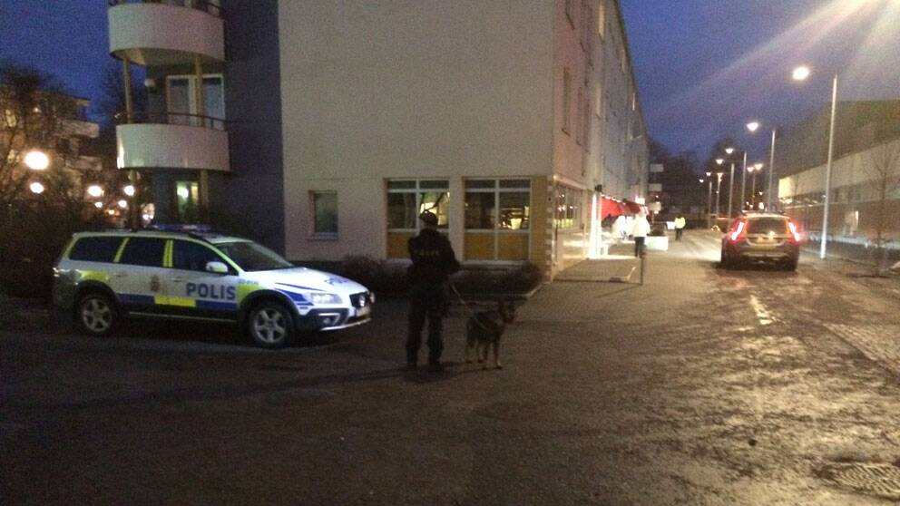 Markbacken, Örebro, polisinsats
