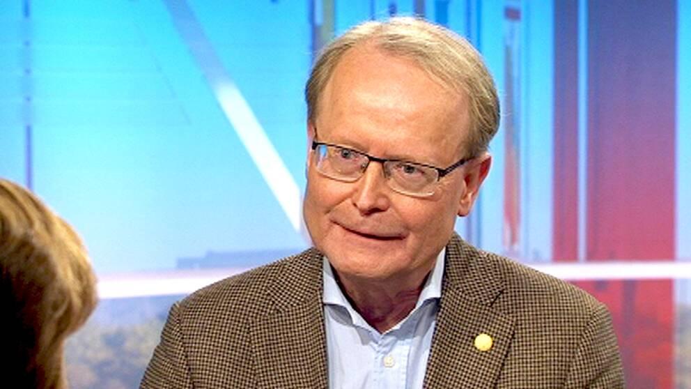 Karolinska institutets rektor Anders Hamsten