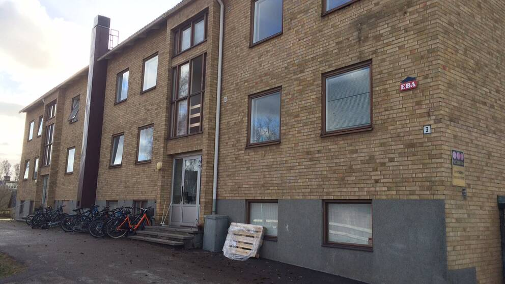 HVB-hemmet för ensamkommande flyktingbarn i Lindås i Emmaboda.