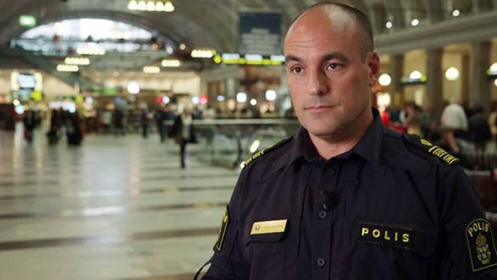 Patrik Engström, chef för gränspolisen