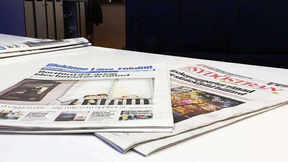 Blekinge läns tidning och Sydöstran